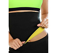 cheap -Lumbar Belt/Lower Back Support Sports Support Protective Breathable Easy dressing Compression Stretchy Fitness Black