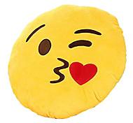 Недорогие -Мягкие игрушки Фаршированная подушка Игрушки Круглый Emoji Новинки Мальчики Девочки Куски