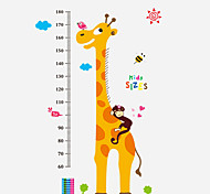 cheap -Animals Still Life Fashion Cartoon Words & Quotes Leisure Wall Stickers Plane Wall Stickers Height Stickers, PVC Home Decoration Wall