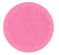 Silicone Lace Fondant Mat Mold Sugar Candy Cake Decorating Mould Baking Tool Hot