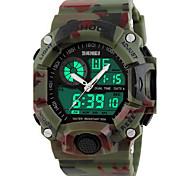 SKMEI Men's Sport Watch Wrist watch Digital WatchLCD Calendar Chronograph Water Resistant / Water Proof Dual Time Zones Alarm Luminous