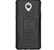 cheap -Case For OnePlus One Plus 3 One Plus OnePlus Case Shockproof with Stand Back Cover Armor Hard PC for One Plus 3 One Plus 2 One Plus X One