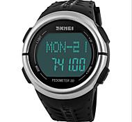 монитор сердечного ритма шагомер счетчик калорий цифровые часы пригодности для мужчин, женщин на открытом воздухе спортивные часы Наручные