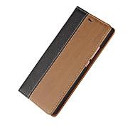 Недорогие -новая мода роскошь флип пу кожаный бумажник для Huawei P8 облегченная / P9 / p9 облегченный случай бумажника + держателя карты функции