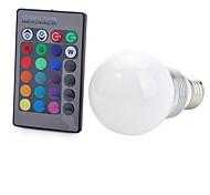 abordables -E26/E27 Ampoules LED Intelligentes T 1 LED COB Commandée à Distance Décorative RVB 100-200lm NILK AC 85-265V
