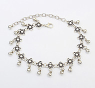 cheap -Women's Anklet/Bracelet Resin Alloy Unique Design Fashion Vintage Jewelry Silver Women's Jewelry Party Daily Casual Christmas Gifts 1pc