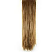 Недорогие -Конские хвостики Искусственные волосы Волосы Наращивание волос Прямой