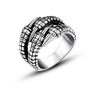 Недорогие -Кольца Others Мода Повседневные Бижутерия Классические кольца 1шт,Стандартный размер Серебряный