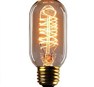 cheap -1pc 40W E26 / E27 T45 Warm White 2300k Retro Dimmable Decorative Incandescent Vintage Edison Light Bulb 220-240V