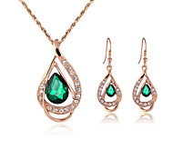 cheap -Women's Jewelry Set Necklace/Earrings Gift Boxes & Bags Adorable Adjustable Wedding Party Daily Casual Earrings Necklaces Costume Jewelry