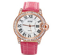 cheap -Women's Quartz Wrist Watch / Casual Watch Leather Band Casual Fashion Black White Red Purple Yellow Navy Rose Gold