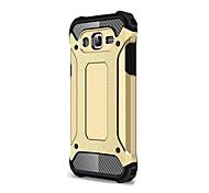 Für Samsung Galaxy Hülle Stoßresistent Hülle Rückseitenabdeckung Hülle Panzer Weich Silikon SamsungJ7 (2016) / J7 / J5 / J1 (2016) / J1