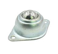 abordables -landa tianrui tm-bricolaje bola de acero de la rueda universal para robot de inspección - plata (2pcs)
