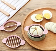 cheap -Plastic Creative Kitchen Gadget Egg Cutter & Slicer