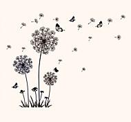 Недорогие -Животные / ботанический / Натюрморт / Мода / Цветы / Винтаж / Отдых Наклейки Простые наклейкиДекоративные наклейки на стены / Наклейки на