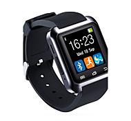 baratos -Homens Relógio Esportivo Relógio inteligente Relógio de Pulso Digital Controlo Remoto LED Borracha Banda Amuleto Luxo Preta Branco