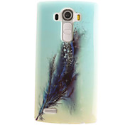cheap -Feathers Painting Pattern TPU Soft Case for LG G4/G4Mini/G4C/G3Mini/G3