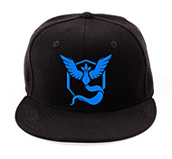 Hat/Cap Inspired by Pocket Monster Ash Ketchum Anime Cosplay Accessories Cap / Figure Black / Red / Yellow / Blue Charmeuse Male / Female