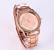 Women's Fashion Watch Quartz Casual Watch Stainless Steel Band Sparkle Luxury Silver Gold Rose Gold