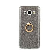 Недорогие -Кейс для Назначение SSamsung Galaxy Кейс для  Samsung Galaxy Кольца-держатели Кейс на заднюю панель Сияние и блеск Мягкий ТПУ для J7