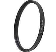 EMOBLITZ 58mm UV ultravioleta filtro protector de lente negro