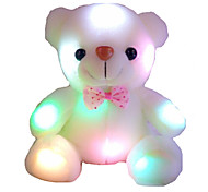 New Stuffed Animal Colorful Dazzling Lights Bear Doll Toys