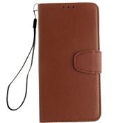 Недорогие -Кейс для Назначение OnePlus Один плюс 3 One Plus Кейс для OnePlus Бумажник для карт со стендом Флип Чехол Сплошной цвет Твердый Кожа PU