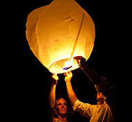 Wedding Wishing With Candle Chinese Fire Flying Sky Paper Kongming Floating Lantern  Random Color