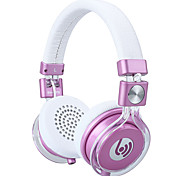 Beevo HM770 Headband Foldable Wired Headphones Headset w/ Mic For PC Table Cell Phone