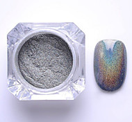 cheap -2g/Box Nail Glitter Powder Shinning Mirror Eye Shadow Makeup Powder Dust Nail Art DIY Chrome Pigment Glitter