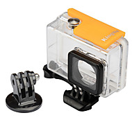 Waterproof Housing Case Mount / Holder Waterproof For Action Camera Xiaomi Camera Snowmobiling Hunting and Fishing Boating Kayaking