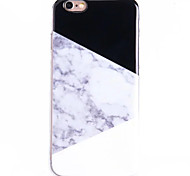 Creative Art Painted Marble Relief TPU Phone Case for iPhone 5 5S SE 6 6S 6S Plus 6S Plus