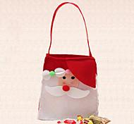 1шт одного плеча на открытом воздухе рождественские украшения конфеты мешок Санта-Клауса принадлежности украшения домашней партии