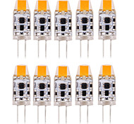 1W G4 LED Bi-pin Lights T 1 COB 100-150 lm Warm White Cold White Natural White 3000-6000 K Waterproof Decorative DC 12 AC 12 AC 24 DC 24 V 10pcs