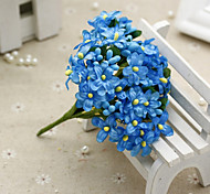 cheap -1 Branch Silk Baby Breath Tabletop Flower Artificial Flowers