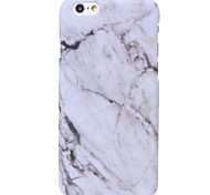 cheap -Case For Apple iPhone X iPhone 8 iPhone 5 Case iPhone 6 iPhone 6 Plus iPhone 7 Plus iPhone 7 Pattern Back Cover Marble Hard PC for iPhone