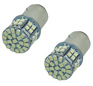 cheap -2PCS Super Bright 5W 50SMD 1206 3020 DC12V Turn Signal Lamp Brake Lights LED Car Auto Bulb