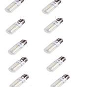 E26/E27 LED лампы типа Корн T 56 светодиоды SMD 5730 Декоративная Тёплый белый 240lm 3000K AC 220-240V