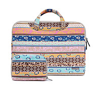 11.6 13.3 15.4 Inch Pink Retro Bohemian Laptop Bag for Macbook/Dell/Hp/Sony/Surface/Ausa/Acer/Samsun,etc