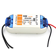 cheap -AC 90~240V 0.62A to DC 12V 2A 28W LED Power Driver - White + Orange
