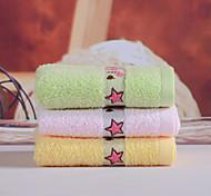 Недорогие -Свежий стиль Полотенца для мытья, Вышивка Высшее качество 100% хлопок Трикотаж Полотенце