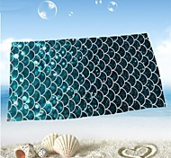 cheap -Fresh Style Beach Towel, Reactive Print Superior Quality 100% Micro Fiber Towel Towel