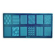 1pcs Nail Art Stamping Plate Colorful Image Design DIY Image painting Nail Tool UB06-10