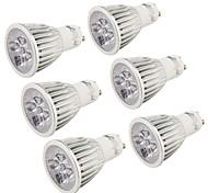 5W GU10 LED Spotlight MR16 5 High Power LED 400-450 lm Cold White 6000 K Decorative AC 85-265 V