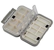 Недорогие -Коробка для рыболовной снасти Водонепроницаемый Многофункциональный 1 Поднос*#*4.5 Пластик