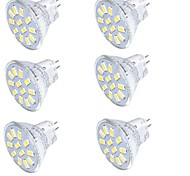 cheap -YouOKLight 350 lm GU4(MR11) LED Spotlight MR11 15 leds SMD 5733 Decorative Warm White Cold White 9-30