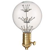youoklight g80 e27 3w 220v decorativo bulbo y la combinación de soporte de la lámpara de la venta.