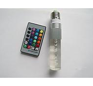 B22 E26/E27 LED Smart Bulbs T 1 High Power LED 100-210 lm RGB 2000-5000 K Remote-Controlled AC 85-265 V