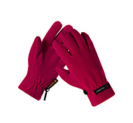 Недорогие -Перчатки для велосипедистов Лыжные перчатки Муж. Жен. Сохраняет тепло холст руно Катание на лыжах