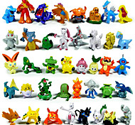 Pocket Little Monster Action Figures 144Pcs Cute Monster Mini Figures Toys Best &Birthday Gifts 3cm